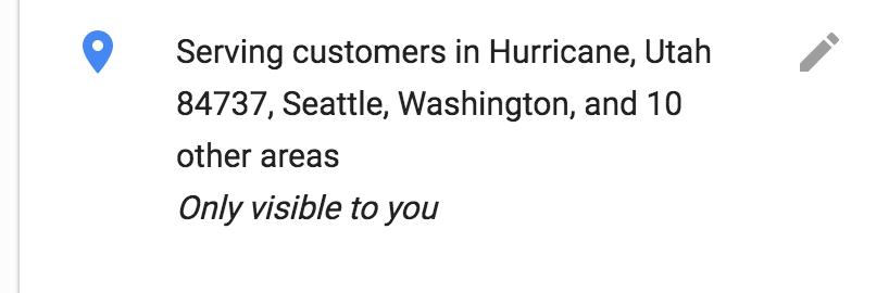 Google Business Locations