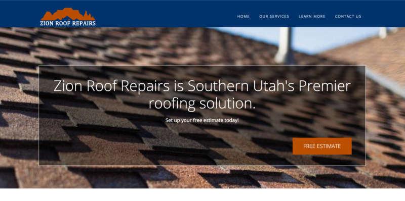Zion Roof Repairs